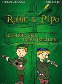 Evenement Saint Sorlin de Conac Robin et Pipo, la quête des notes perdues