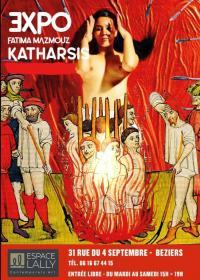 Evenement Salles d'Aude EXPOSITION KATHARSIS - FATIMA MAZMOUZ