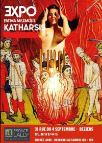 Evenement Fleury EXPOSITION KATHARSIS - FATIMA MAZMOUZ