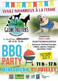 Idée de Sortie Géraudot BBQ party de la ferme des Globe Trotters
