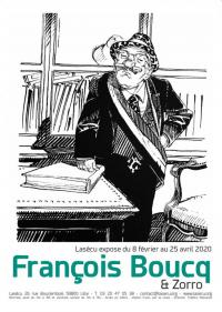 Evenement Tourcoing Exposition François Boucq et Zorro à Lasécu