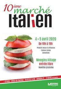 Evenement Gattières Marché italien