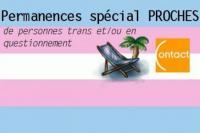 Evenement Carry le Rouet Permanences Transat spécial Proches de personnes trans