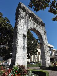 Idée de Sortie Aix les Bains Arc de Campanus