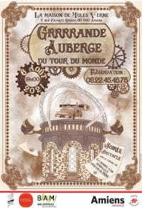 Affiche-Grrrrande-Auberge-MJV-Amiens-HDF Amiens