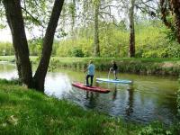 Idée de Sortie Clémont Step Paddle sur le canal