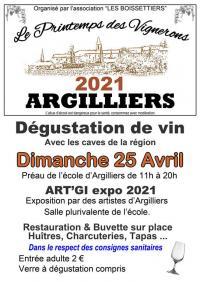 Printemps-des-Vignerons Argilliers