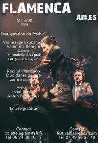 Inauguration-du-festival-Flamenca Arles
