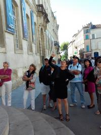 Visite d'Arles avec Alice Arles