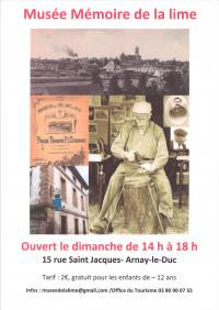 Idée de Sortie Arnay le Duc Musée de la Lime