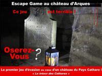 Idée de Sortie Cassaignes ESCAPE GAME AU CHÂTEAU D'ARQUES