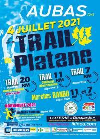 Evenement Saint Aulaire 2ème édition du Trail du Platane