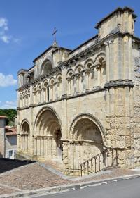 Idée de Sortie Courlac Eglise Saint-Jacques d'Aubeterre