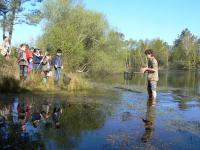 Evenement Aquitaine Petite pêche en mare