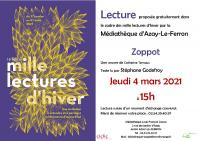 Evenement Indre 1000 lectures d'hiver