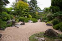 Jardin zen d´Erik Borja Tain l´Hermitage