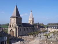 Idée de Sortie Lizières Visite de l'Abbatiale de Bénévent l'Abbaye