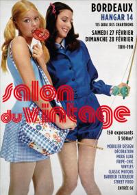 Evenement Aquitaine Salon du Vintage #5 au Hangar 14 à Bordeaux