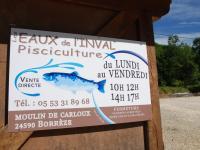 Idée de Sortie Borrèze Pisciculture des eaux de l'Inval