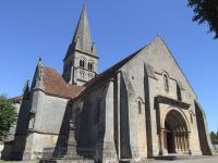 Idée de Sortie Bourbon l'Archambault Église Saint-Georges - Bourbon-l'Archambault