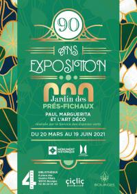 Evenement Centre Les Jardins des prés Fichaux : Paul Marguerita et l'art Déco