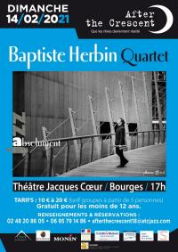 Evenement Saint Georges sur Moulon After the Crescent : Baptiste Herbin Quartet
