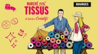 Evenement Savigny en Septaine Tisséade, marché aux tissus et loisirs créatifs
