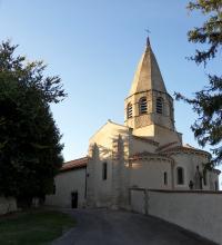 Idée de Sortie Cesset Église Saint-Georges