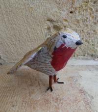 Evenement Saint Sorlin de Conac Activité créative: Drôles d'oiseaux à Terres d'Oiseaux