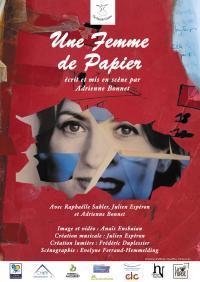 Evenement Villegenon Une femme de papier, Cie Puzzle Centre au Théâtre de l'Escabeau