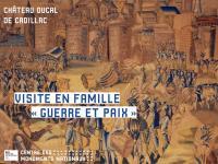 Evenement Saint Genès de Lombaud Visite en famille au Château