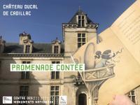 Evenement Saint Genès de Lombaud Promenade contée au Château ducal de Cadillac