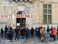 Evenement Saint Genès de Lombaud Visite théâtrale au Château ducal de Cadillac