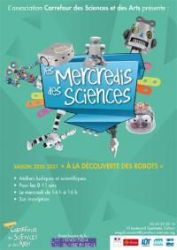 Evenement Lot Les Mercredis des Sciences, à Cahors : A la Découverte des Robots