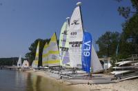 Regate-de-voile--52eme-GPA-catamarans Carcans