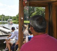 Balade-en-bateau-vers-le-moulin-de-Chitre Cenon sur Vienne