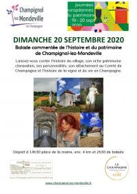 Idée de Sortie Saint Usage Les Journées européennes du Patrimoine à Champignol-lez-Mondeville