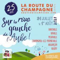 Evenement Mussy sur Seine La Route du Champagne en Fête 2021 !