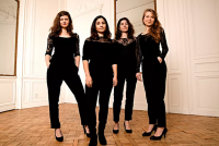 Evenement Saint Menges Concert Musique Classique : Quatuor Akilone