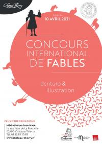 Evenement Vichel Nanteuil Concours international de fables 2021 de la ville de Château-Thierry