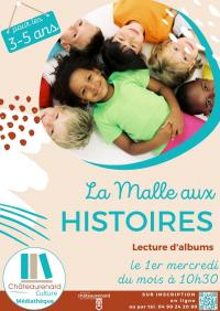 Evenement Châteaurenard La Malle aux Histoires