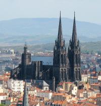 Idée de Sortie Clermont Ferrand Cathédrale notre-dame de l'Assomption