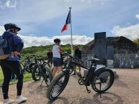 Evenement Formigny Omaha Beach Story (demi-journée en fat bike électrique)