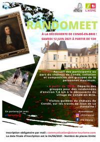 Idée de Sortie Saint Eugène Randomeet à la découverte de Condé-en-Brie