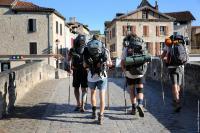 Idée de Sortie Vieillevie Le chemin Conques -Toulouse (itinéraire de liaison jacquaire)