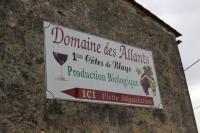 Domaine des Allants enseigne Saint Vivien de Blaye