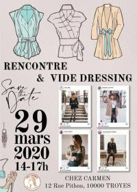 Evenement Géraudot Rencontre et vide dressing