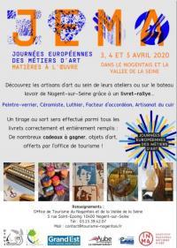 Evenement Plessis Barbuise Journées Européennes des Métiers d'Art