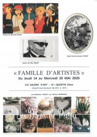 Evenement Saint Quentin Familles d'artistes