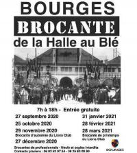 Evenement Saint Georges sur Moulon Brocante de la Halle aux Blé